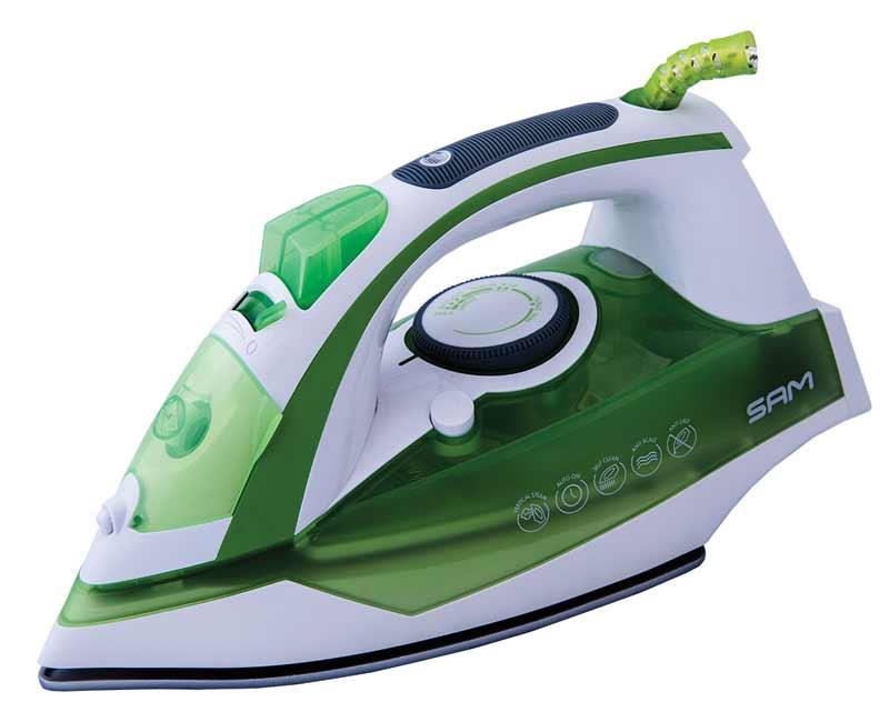 اتو بخار سام مدل 5025 سبز رنگ