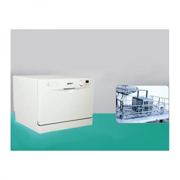 ماشین ظرفشویی رومیزی سام مدل T1309w